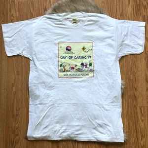 90s United Way Day of Caring '97 T-shirt Size XL
